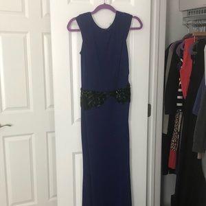 ❤️sale❤️ Long badgley mischka purple formal dress